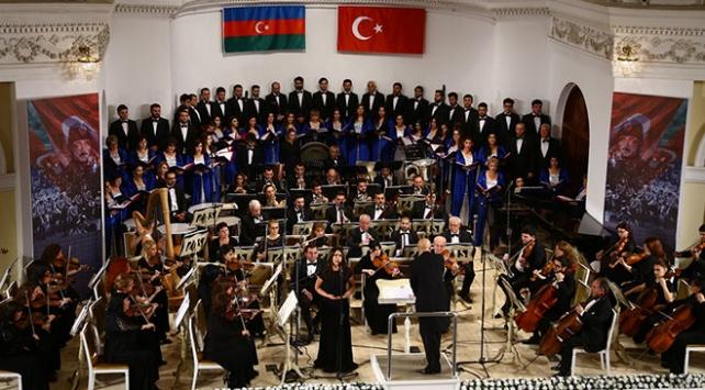 Baküde Kafkas İslam Ordusuna vefa konseri