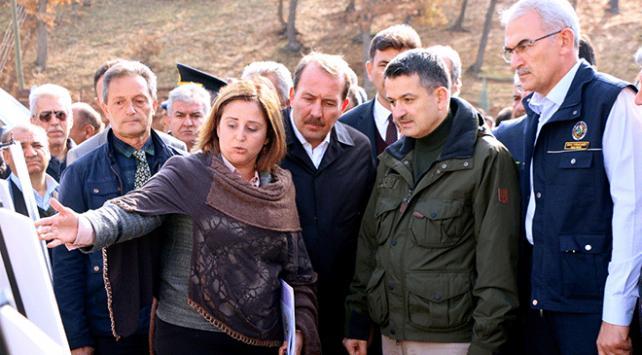 Tarım ve Orman Bakanı Bekir Pakdemirli Eskişehirde biyoyakıt tesisini ziyaret etti