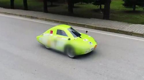 """Yerli elektrikli araç """"Evrim"""" dünya maratonuna hazırlanıyor"""