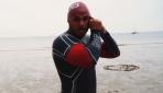 157 gün yüzen İngiliz maceraperest yeni bir rekor kırdı