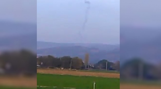 Sosyal medyada Balıkesirde uçak düştü iddiası paniğe yol açtı