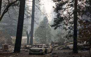 California tarihindeki en büyük orman yangınlarıyla boğuşuyor