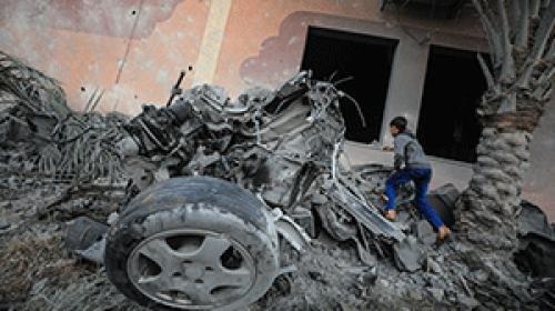 İsrailden Gazze Şeridine saldırı: 7 şehit