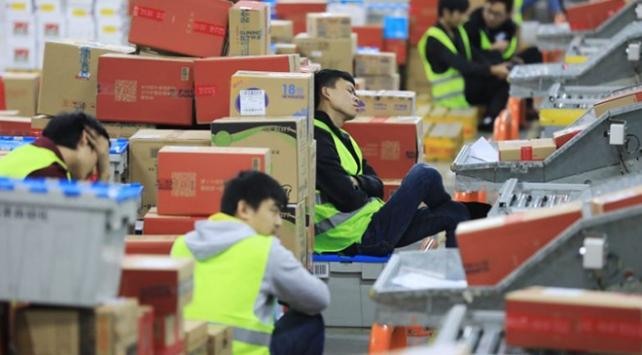 Çinde internet üzerinden alışveriş rekoru kırıldı
