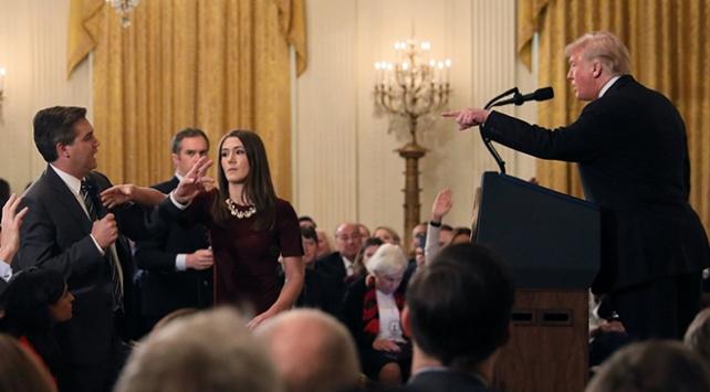 CNNin Trump yönetimini mahkemeye verdiği iddia edildi