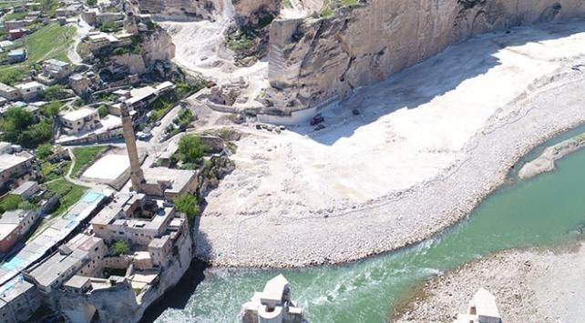 Hasankeyfteki 609 yıllık Er-Rızk Camii de taşınıyor