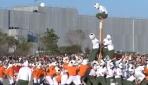 """Japonyanın en sert sporu """"Botaoshi"""" okullarda oynatılıyor"""