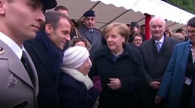 101 Yasindaki Fransiz Kadin Merkel I Macron Un Esi Zannetti Haber Trt Avaz