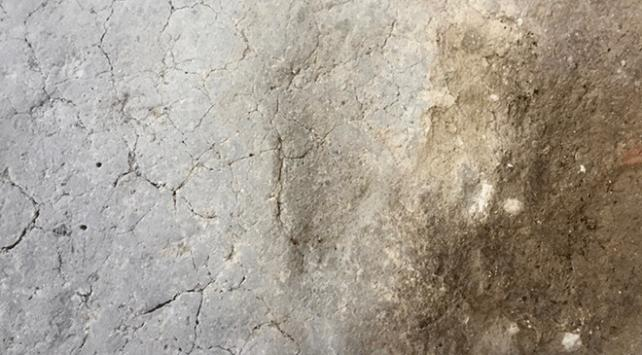 Aktopraklık Höyüğünde 7 bin 500 yıllık ayak izleri bulundu