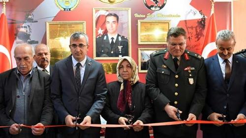 Şehit pilot Binbaşı Dumanın ismi ilkokulda yaşatılacak