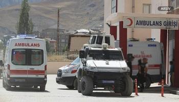 PKKlı teröristler yol yapan işçilere saldırdı