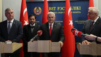TBMM Başkanı Yıldırım: Türkiye ve Belarus ticarette 1 milyar dolara yaklaşıyor