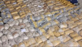 İrandan Avrupaya götürülmek istenen 6 ton eroin ele geçirildi