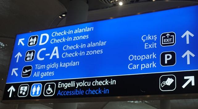 İstanbul Havalimanı, engelli yolcular için özel tasarımıyla dikkat çekiyor