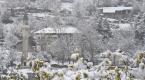 Gümüşhanede kar yağışı