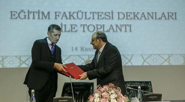 MEB ile YÖK arasında öğretmen yetiştirme programı için protokol imzalandı