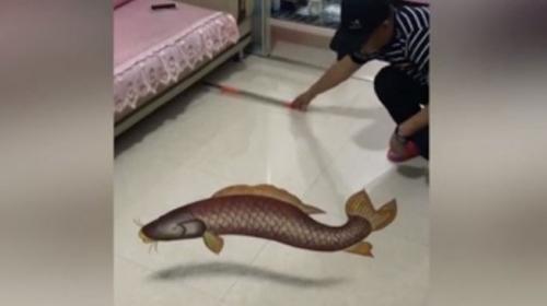 Çinli kum sanatçısının kafa karıştıran 3D resimleri