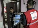 Türk Kızılayından Reyhanlı'daki sel mağdurlarına yardım