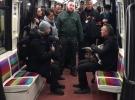 Çaldığı keçi ile metroya binince yakalandı