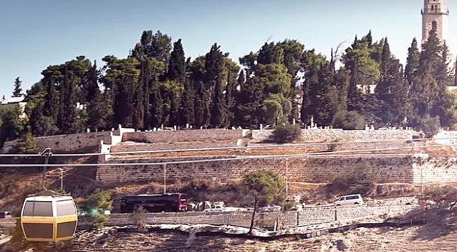 İsrail Kudüste teleferik hattı inşa etmeyi planlıyor