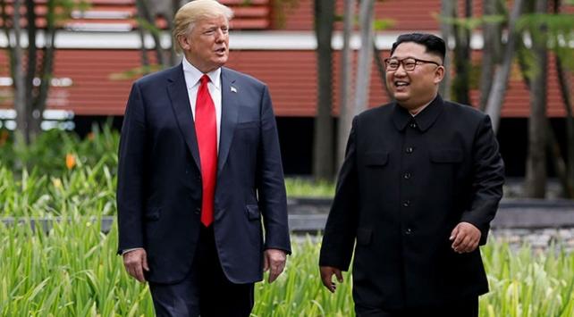 Trump 2019da Kim Jong-unla görüşmeyi planlıyor