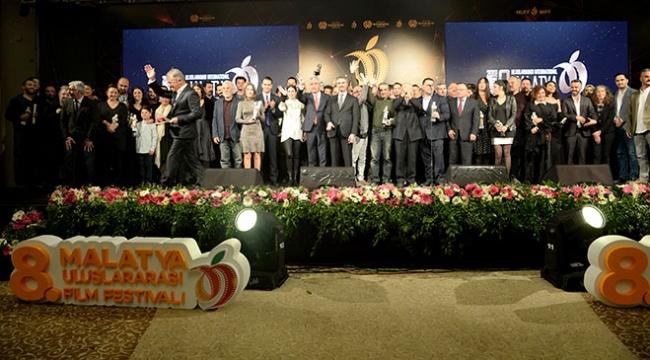 8. Malatya Uluslararası Film Festivalinde ödüller sahiplerini buldu