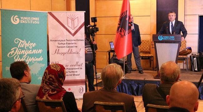 Tiranda, Türkçeden Arnavutçaya tercüme edilen eserler tanıtıldı