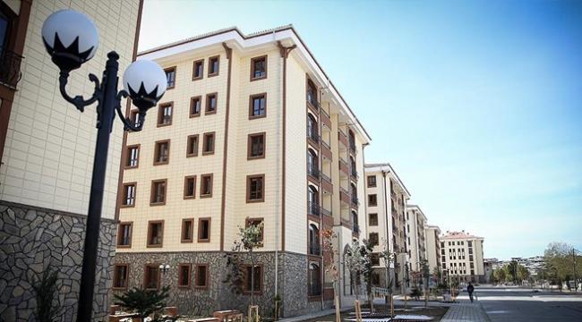 """Bakan Kurumdan dar gelirli vatandaşlara """"sosyal konut"""" müjdesi"""