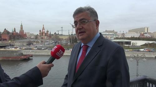 Türkiyenin Moskova Büyükelçisi Türk-Rus ilişkilerini değerlendirdi