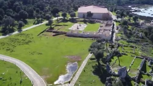 Antalya Demredeki antik bölge turizme kazandırıldı