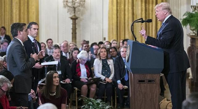 Beyaz Saray CNN muhabirine basın kartını geri verecek