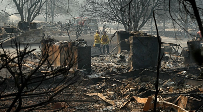 Californiadaki yangın felaketinde ölü sayısı 74e yükseldi