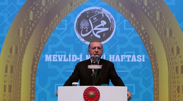Cumhurbaşkanı Erdoğan, Mevlid-i Nebi Haftası açılışında konuştu