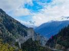 Kaçkarlar'daki Zil Kale'de iki mevsimin güzelliği bir arada