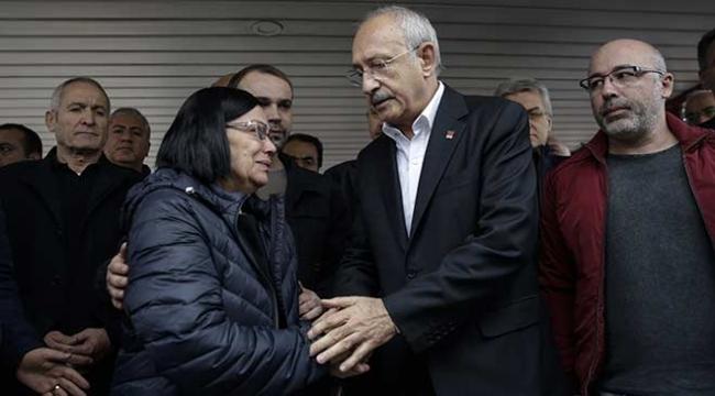 CHP Genel Başkanı Kılıçdaroğlundan Bircan ailesine taziye ziyareti