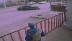 Jandarma önünde drift yapan sürücüye 5 bin 10 lira ceza