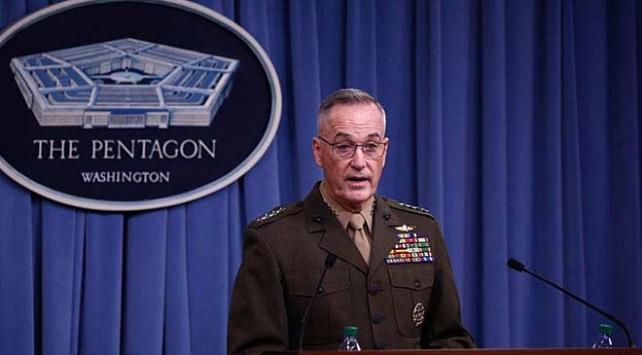 ABD Genelkurmay Başkanı Dunford: Taliban Afganistanda kaybetmiyor 18