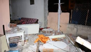Erzurumda doğal gaz bağlantısı sırasında patlama: 3 yaralı