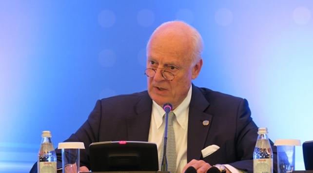 BM Suriye Özel Temsilcisi Mistura: Suriye anayasa komisyonu bu aşamada oluşturulamayabilir