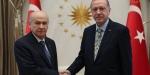 Cumhurbaşkanı Erdoğan ile Devlet Bahçeli çarşamba günü görüşecek