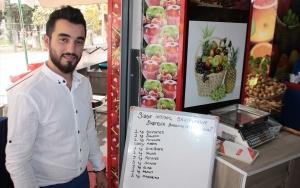 """""""Askıda meyve, sebze"""" ile ihtiyaç sahiplerine destek"""