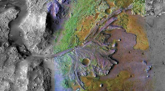 NASAnın yeni keşif aracı Marsta Jezero kraterine inecek