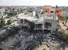 İsrail'in son Gazze saldırısında bıraktığı enkaz görüntülendi