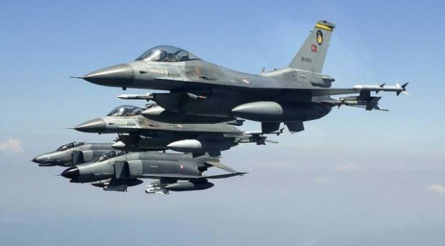 Irakın kuzeyine hava harekatı: 5 terörist etkisiz hale getirildi