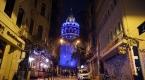 Galata Kulesi çocuk hakları için maviye büründü