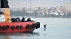 Mersinde gemi kaçırılmasına müdahale tatbikatı
