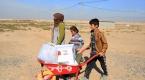 Türk Kızılayından Musullu sığınmacılara yardım