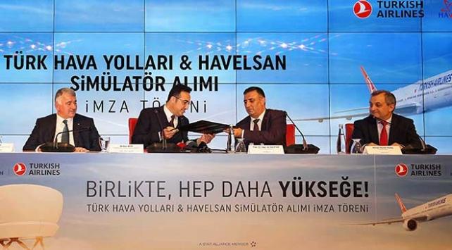 THY ile HAVELSAN arasında yerli simülatör anlaşması