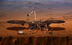 NASAnın sismik inceleme aracı Marsa indi