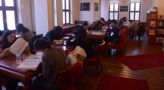 Kütüphanenin okuyucu sayısı kent nüfusunu aştı